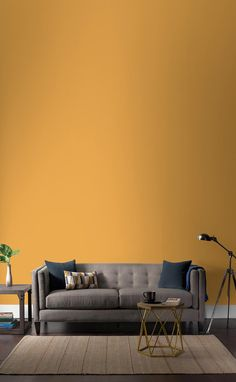 Premium Benjamin Moore paint and stain for home interiors and exteriors. Exterior Stain, Interior And Exterior, Shop Interior Design, Interior Paint, Décoration New York, Shop Front Design, House Design, Benjamin Moore Paint, Yellow Walls
