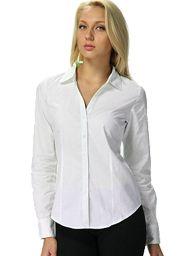 Готовая выкройка блузки на каждый день - классический вариант