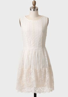 Townsend Embroidered Lace Dress - pretty!