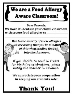 Dairy Free Classroom Poster A Free Printable Poster  Food