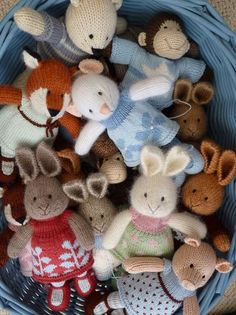 I would like to have one, or two.... maybe one of each??? Julie from little cotton rabbits makes the sweetest Hugables! And you can buy them via her Etsy shop - if you are quick enough!
