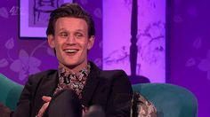 """I've uploaded a number of screencaps from Matt's appearance on """"Alan Carr's Chatty Man"""" to theFlickr Gallery. Some examples are below but please head on over to theFlickr Galleryfor the full set. Feel free to download and use."""