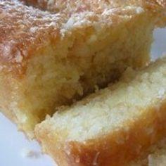 Moist and Delicious Coconut Bread