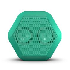 Boombotix Boombot REX Wireless Ultraportable Weatherproof Bluetooth Speaker for iPods Smartphones Tablets and Laptops - Mint Green (Newest Version): Amazon.ca: Electronics