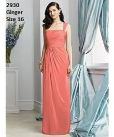 .Lechelles Bridal One shoulder bridesmaid dress for only £30  #bridesmaid #beautiful #huntmydress