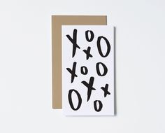 Xo Mini Card from The Paper Cub Co. #vdaycard