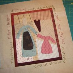 Quilting with Ragdolls: March 2007.. actually made one like this in Cheri's class..