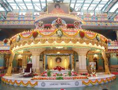 Maha Samadhi Of Sri Satya Sai Baba at Sai Kulawant Hall,Prashanthi Nilayam,Puttaparthi,Andhra Pradesh,India