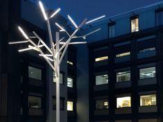 Decorazione luminosa a led ALBERO by iGuzzini Illuminazione design Enzo Eusebi