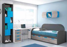 Dormitorio juvenil / Youth bedroom www.decorhaus.es/es/ #muebles #Málaga #furniture