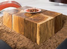 Coffee table for the living room. Wooden Simply Design Table
