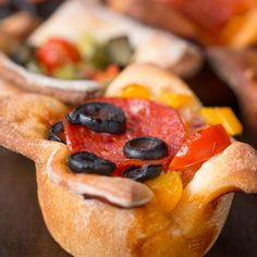 Easy Pizza Cups Recipe by Tasty