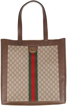 5f8615d0e2 Gucci Ophidia Gg Supreme Large Shopper Tote