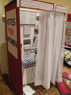 Voting booth- so cool!