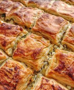 Image may contain: food Turkish Recipes, Greek Recipes, Ethnic Recipes, Pastry Recipes, Cooking Recipes, Turkish Kitchen, Brunch, Good Food, Yummy Food