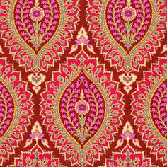 Amy Butler - Alchemy - Imperial Paisley in Zinnia
