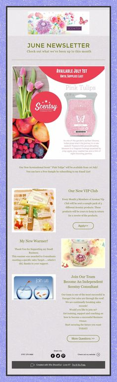 Get our Monthly Newsletter delivered to your inbox! New products, special offers and much much more