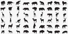 Siluetas de animales | Premium Vector #Freepik #vector #perro #naturaleza #pajaro #gato Animal Silhouette, Black Silhouette, Shadow Theatre, Farm Animals, Wild Animals, Silhouettes, Vector Free, Nature, Bird