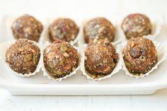Chia, hemp, buckwheat, almond, date, pumpkin seed & cranberry energy balls