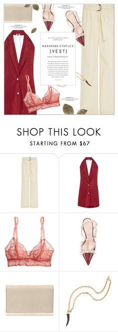 """Wardrobe Staples: Vest"" by monazor ❤ liked on Polyvore featuring Rosie Assoulin, Eberjey, Kate Spade, Diane Von Furstenberg, Pembe Club, summerstyle, vest, womenfashion, chicoutfit and summer2016"