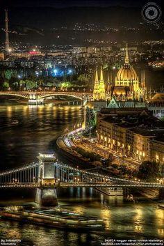 History and modern lighting, Budapest