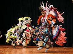 Comanche dancers perform at a ceremony honoring the Comanche Code Talkers in Lawton, Oklahoma, USA. (Sue Ogrocki)
