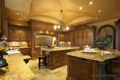Love! I would so give up part of my livining roo/ just to have this kitchen!