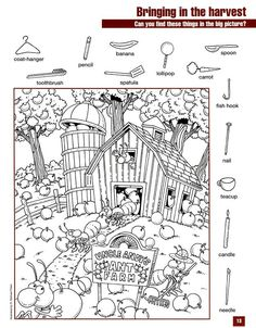 School Coloring Pages, Colouring Pages, Coloring Books, Preschool Printables, Preschool Activities, Kindergarten Learning, Alphabet Activities, Free Printables, Hidden Pictures Printables