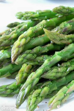 Simply Steamed Asparagus | The best!!! First time I cooked asparagus without undercooking or overcooking.""