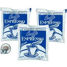 Visualizza i dettagli per 100 CIALDE FILTRO CARTA 55MM BIDOSE CAFFE' ESPRESSO SILVER