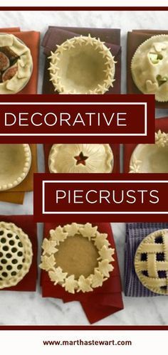 Before you bake, add a special touch to your pies -- it's the perfect way to personalize any pastry!