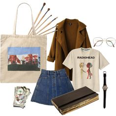 A fashion look from September 2015 featuring Retrò t-shirts, Chicnova Fashion coats and Marc Jacobs tote bags. Browse and shop related looks.