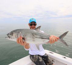 A nice big eyed Jack for Mark aboard GOOD DAY in Costa Rica #jackpotsportfishing