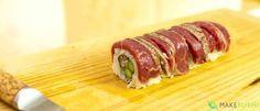 Steak Tataki Sushi Roll Recipe   Make Sushi
