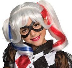 Girls Harley Quinn Costume - DC Super Hero Girls - Party City