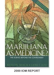 Marijuana As Medicine? The science beyond the controversy.---University of California Center for Medical Cannabis Research.