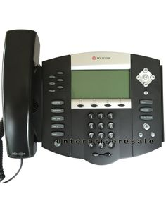 Polycom SoundPoint IP 650 Phone POE IP650 (2201-12630-025) REF