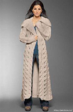 Великолепное пальто спицами с подиума - воплощаем мечту в жизнь http://www.ya-masterica.ru/post423741251/
