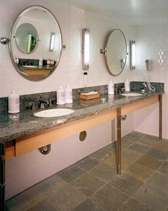 Charmant Marble Bathroom Floor And Granite Top