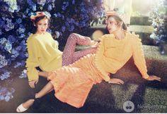 Январский номер корейского Harper's Bazaar