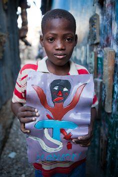 Haitian Art Student, Monson (Grand Rue, Port-au-Prince)
