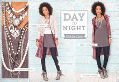 Take your look from Day to Night. www.buckle.com