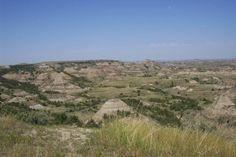 Badlands of North Dakota
