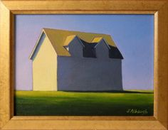 "Joan Albaugh Fine Art Oil on Canvas ""Dormers"", signed lower right J. Albaugh"