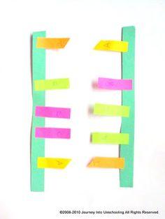 POST-IT DNA Model Post It Art, Dna Model, Teaching Biology, Popular Pins, Letters, Science Ideas, Education, Homeschooling, Teaching Ideas