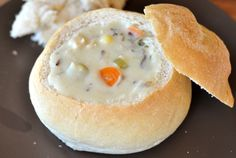 Creamy Chicken and Wild Rice Soup Recommended by a friend.  Excited to try this one!