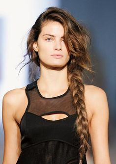 5 Ways to Beat Bad Hair Days - Great for Thick Hair: The Sidewinder from #InStyle