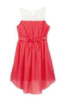 Zunie Printed Dress (Big Girls)