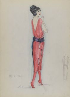 Cheruit, sketch 036-016, fall 1920.