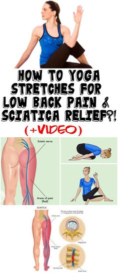 HOW TO YOGA STRETCHES FOR LOW BACK PAIN & SCIATICA RELIEF?! (+VIDEO)